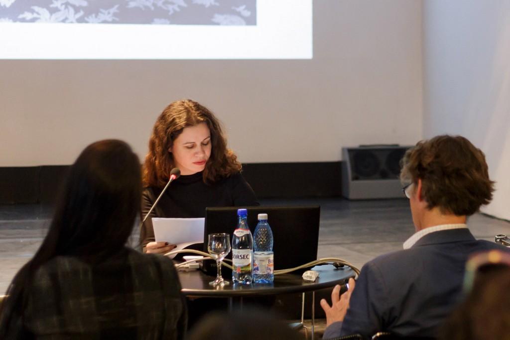 Corina Ilea at Camera Plus 2016's conference