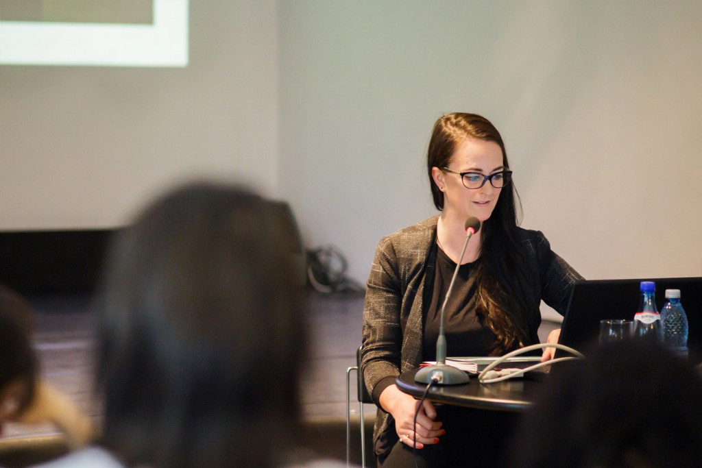 Louise Clements at Camera Plus 2016's conference