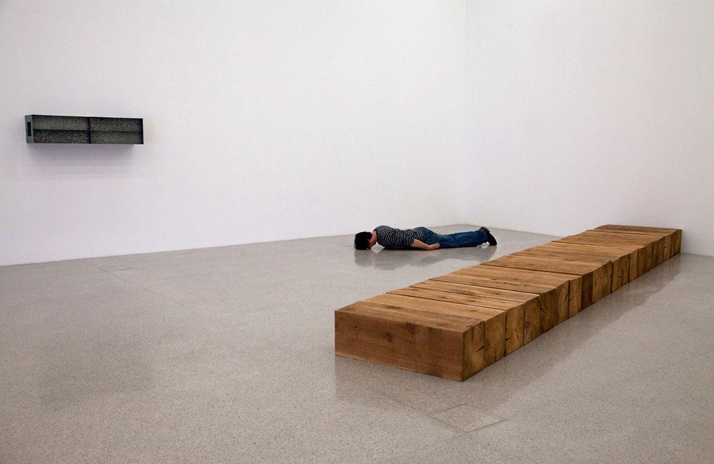 Dumitru Oboroc, Planking Art (detaliu), Lightjet print, 30x45cm, 2013