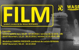 FILM - proiect curatorial, Galeria apARTe Iași